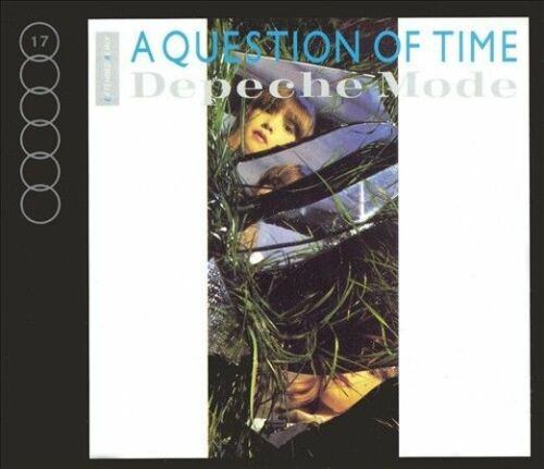 depeche mode - A Question Of Time (Import CD single) Used
