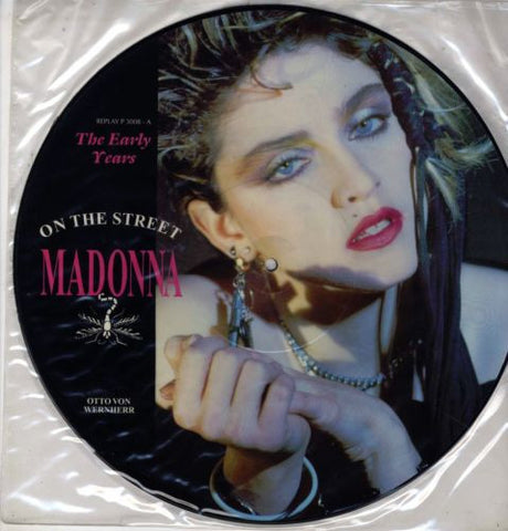 Madonna Picture Disc ON THE STREET