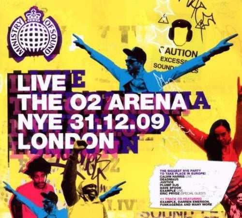 Ministry Of Sound - Live The 02 Arena NYE 2009 LONDON