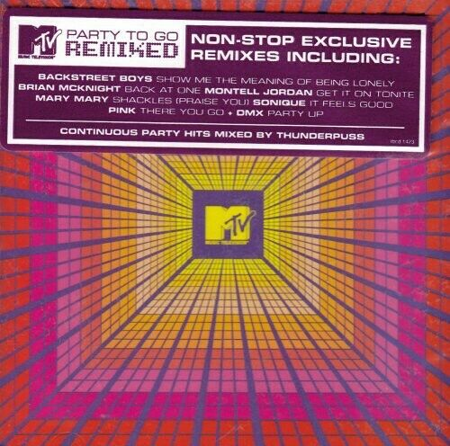 MTV Party To Go - REMIXED - New CD