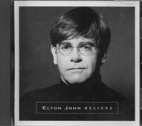 Elton John - BELIEVE (CD single PROMO)  1 track