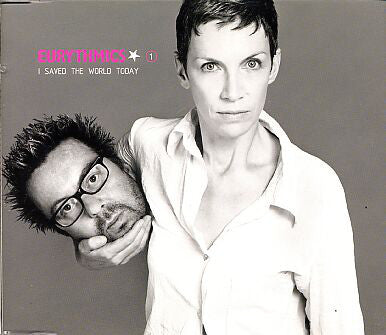 Eurythmics - I saved the world today CD1 (Import CD single) Used