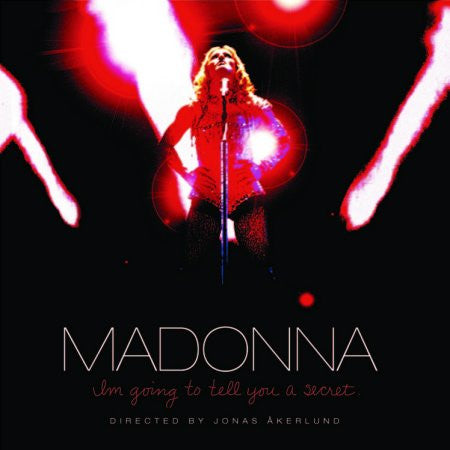 MADONNA I'm Going To Tell You A Secret DVD + Live CD