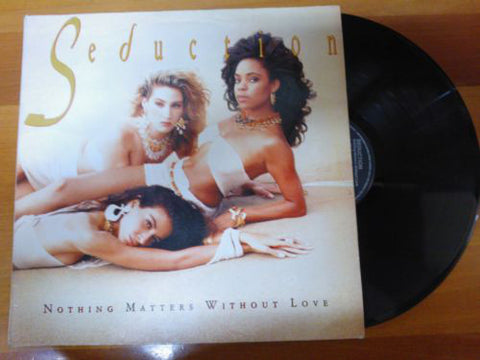 Seduction - original LP VINYL - Nothing Matters Without Love - Used Vinyl