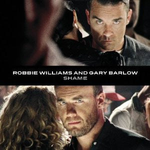 Robbie Williams & Gary Barlow - SHAME Import CD single