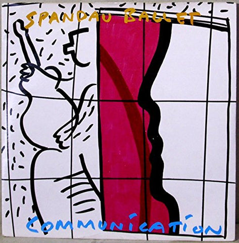 "Spandu Ballet - Communication UK 12"" LP Vinyl - 1983 Used"