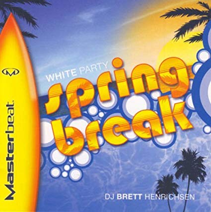 Masterbeat - White Party Spring Break - dj Brett Henrichsen - Used CD