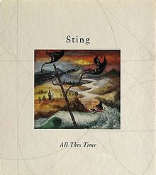 STING -  All This Time CD single + 2