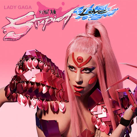 Lady GaGa - Stupid Love CD Single (Artwork #1) Remixes