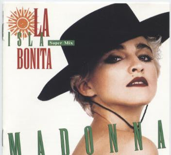 MADONNA La Isla Bonita/ Gambler / Open Your Heart / Crazy for You EP