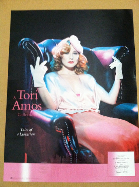 Tori Amos - Promo poster Tales of a Librarian