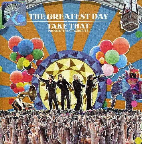 Take That - The Greatest Day: Circus Live [Import] Double CD