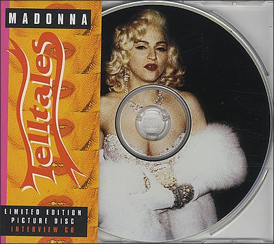 Madonna - Telltales Interview CD Picture Disc
