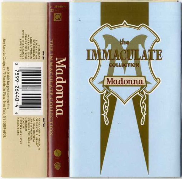 Madonna - The Immaculate Collection Audio Cassette (Used)