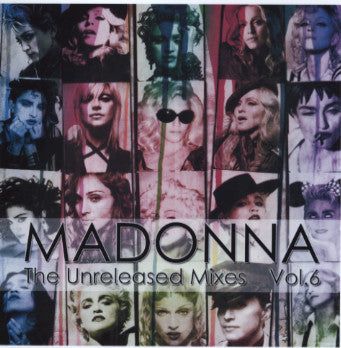 MADONNA - Unreleased Remixes vol. 6 CD