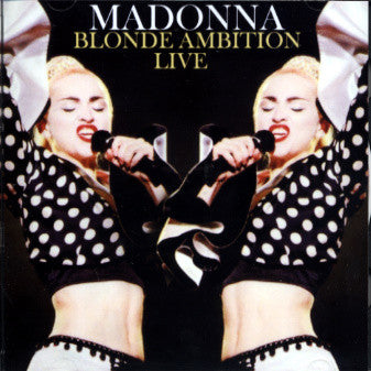 MADONNA Blonde Ambition LIVE CD + bonus tracks SALE