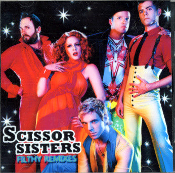 scissor sisters Filthy Remix Collection CD (SALE)