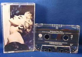Madonna - True Blue (Audio Cassette) First pressing - used