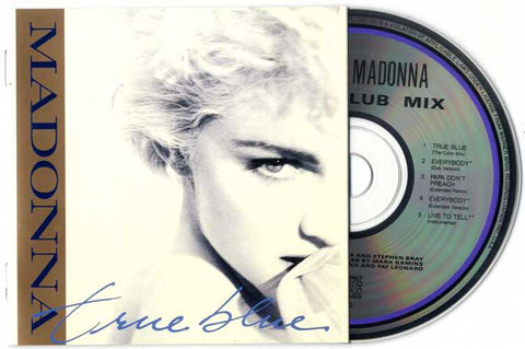 Madonna - TRUE BLUE Super Club Mix (EP)  Used CD
