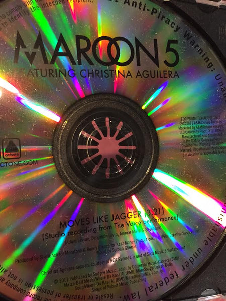Maroon 5 ft: Christina Aguilera - Moves Like Jagger (The Voice Studio version) CD promo