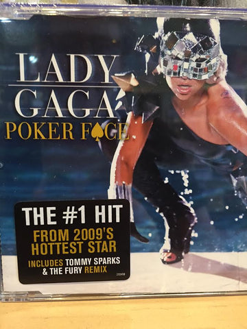 Lady Gaga - Poker face (UK CD single) 2 track w/ exclusive remix