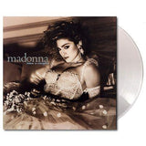 Madonna -'Like A Virgin' (Clear Vinyl Pressing) (Clear Vinyl, UK Import) LP (SALE)