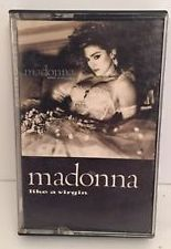 Madonna Like A Virgin Audio Cassette (Used)