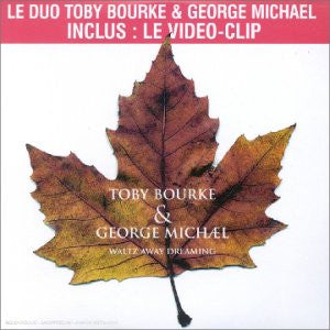 George Michael - Waltz Away Dreaming ft: Toby Bourke  (CD Single)