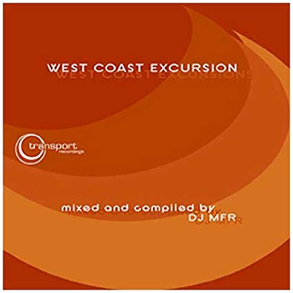 West Coast Excursion CD Mixed by DJ MFR (Used CD)
