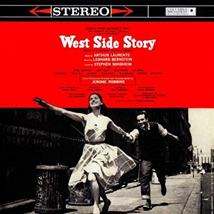 West Side Story Broadway Cast Recording  CD - used
