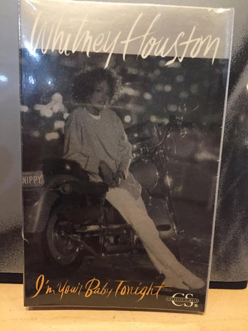 Whitney Houston - I'm Your Baby Tonight -Cassette single (NEW)