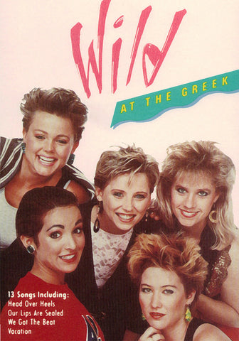 The Go-Go's WILD At The Greek DVD (NTSC) LIVE + Videos