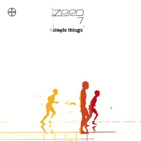 ZERO 7 - SIMPLE THINGS (US Release +2 bonus tracks) Used CD