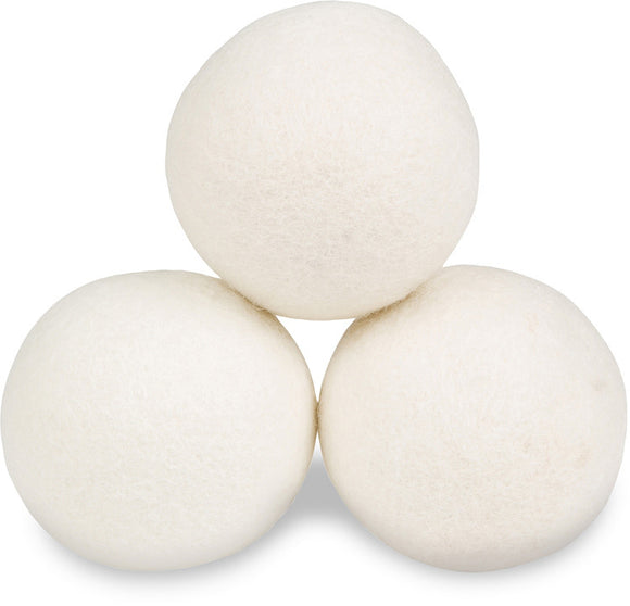 3-Pack 100% Wool Dryer Balls - Free Shipping
