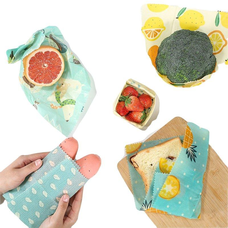 Beeswax Food Wraps - Reuse me for years - Sweatcoin Offer - The Green Company