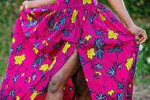 Load image into Gallery viewer, Adaeze Maxi Ankara Print Skirt