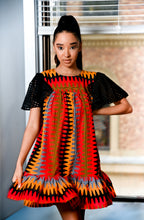 Load image into Gallery viewer, DUTON Ruffle Shift Dress 3