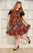 Load image into Gallery viewer, DUTON Ruffle Shift Dress 4
