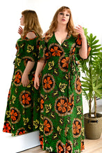 Load image into Gallery viewer, Arewa Wrap Dress