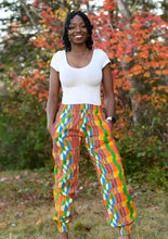 Load image into Gallery viewer, Ally African Print Jogger Pant