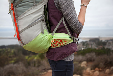 Lost Coast Backcountry Pack (Mojave Red - Women's Fit)