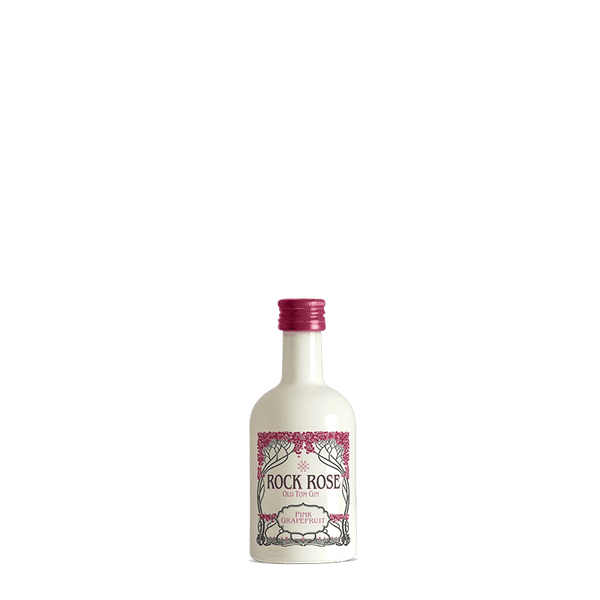 5cl Rock Rose Pink Grapefruit Old Tom-Miniatures-Fountainhall Wines