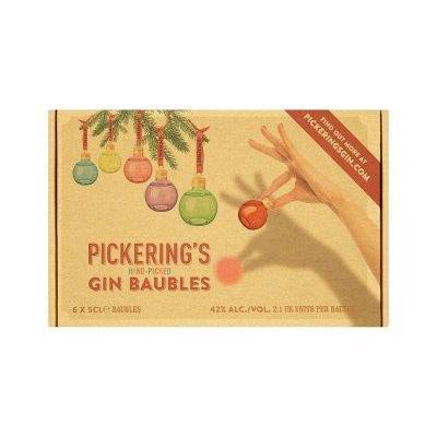 Pickerings Gin Baubles 6x5cl-Gin-Fountainhall Wines