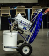 Load image into Gallery viewer, SaniSpray HP130 2-Gun Cart Sprayer