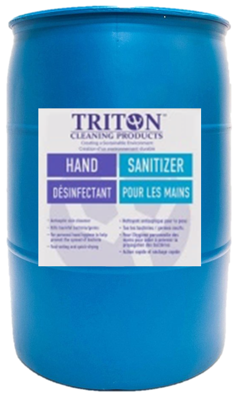 Triton Hand Sanitizer (FCC Grade) - 200 Litre Drum: PLEASE CONTACT US TO ARRANGE YOUR FREIGHT RATE FOR THIS ITEM