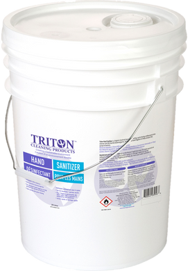 20 litre pail of Triton Hand Sanitizer with handle