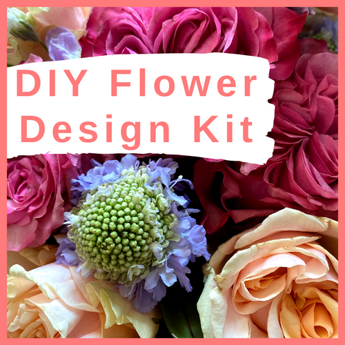 Order The Debbie DIY KIT from our Spring Collection! This Do-It-Yourself Floral Design Kit will include mixed stems of peach roses, pink roses, lavender scabiosa, lavender stock, solomio bono, and hebes. The kit will also include design tips from the pros! The flowers will be shipped directly from the farm!