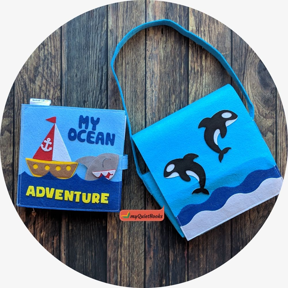 My Ocean adventure Busy book