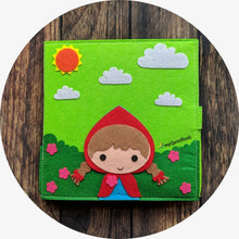 Load image into Gallery viewer, Little Red Riding Hood playset
