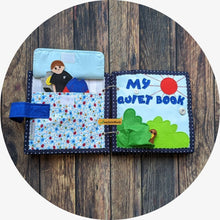 Load image into Gallery viewer, Boys 10-page Quiet book [PRE-ORDER]